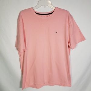 Tommy Hilfiger Classic Crew Neck Pink T Shirt S/S